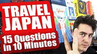 15 TIPS FOR TRAVEL IN JAPAN