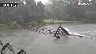 Pogledajte kako uragan Florence uništava obalu SAD-a