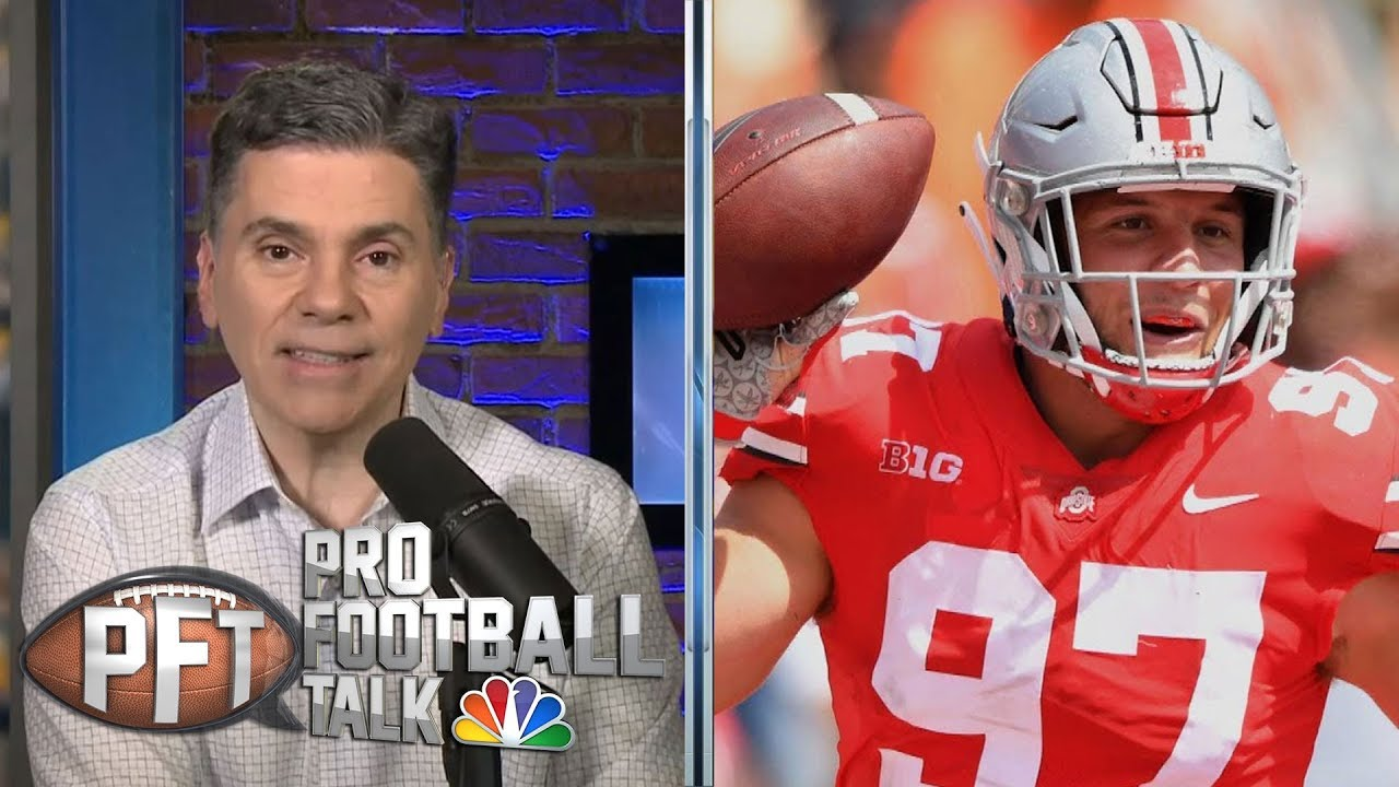 Will Nick Bosa have problem in NFL locker rooms? | Pro Football Talk | NBC Sports