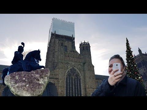 Vlogmas Day 4 // Durham Christmas Markets With The Mam// Am I Know Vegan