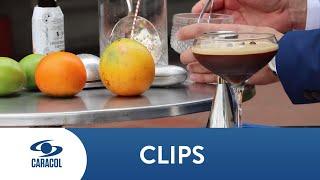 Ricardo Nava prepara un Expreso Martini | Caracol Televisión