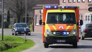 Stadt-/Land-/Pressluft-/Bullhorn/Wail: 4 x RTW Rettungsdienst Ackermann thumbnail
