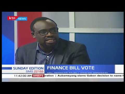 Finance bill vote   SUNDAY EDITION