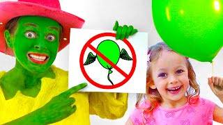 Children Song with Maya and Mary - Funny Rules