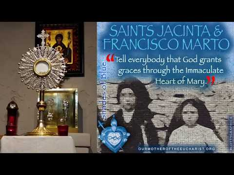 PRAY THE ROSARY with Missionaries of Our Mother of the Eucharist - Thu, Feb. 20, 2020
