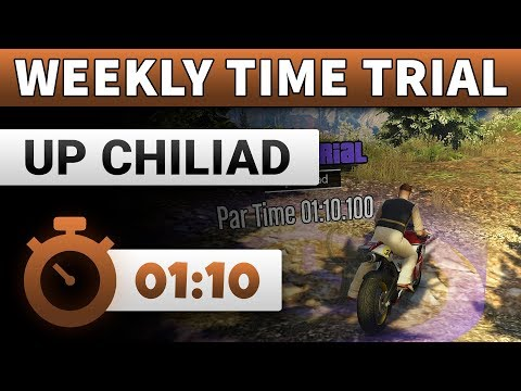 GTA 5 Time Trial This Week Up Chiliad | GTA ONLINE WEEKLY TIME TRIAL UP CHILIAD (01:10)