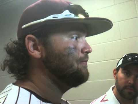 Mississippi State sophomore 1B Wes Rea after 4-1 win over Or