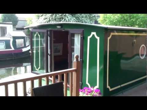 London canal boat for sale