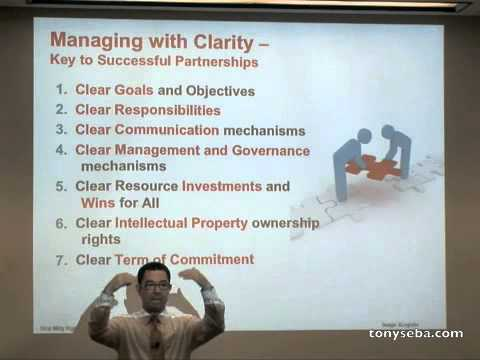 Partnership Strategy - Stanford Strategic Marketing of High Tech and Clean Tech