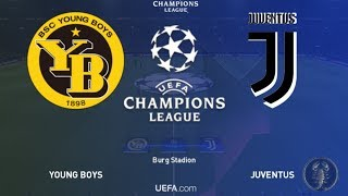 Juventus Vs Young Boys - Champions League da record. Ora l'assalto al primo posto. | PES 2019
