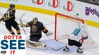 GOTTA SEE IT: Full Overtime Between Sharks And Golden Knights