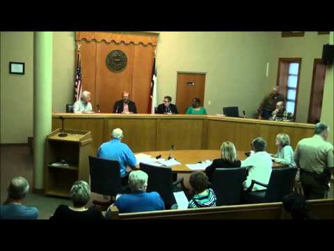 Titus County Texas Commissioners' Court held on March 23, 2015