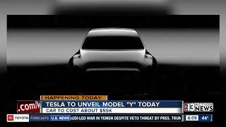 Tesla to unveil Model Y today