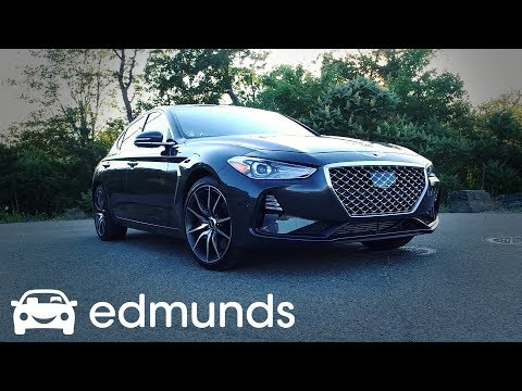 2019 Genesis G70 First Drive  Review  Edmunds