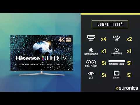 Hisense | Smart TV ULED 4K UHD HDR | H55U7A