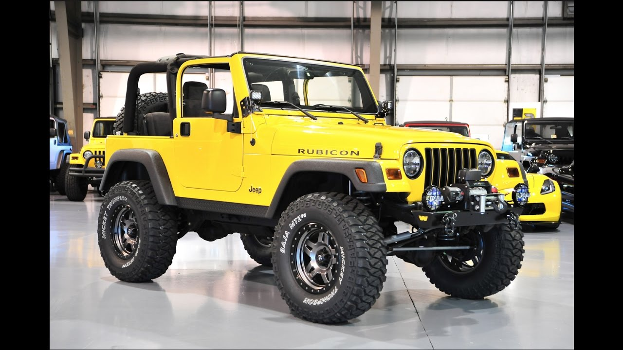davis autosports 2004 jeep wrangler rubicon for sale lifted modified low miles youtube. Black Bedroom Furniture Sets. Home Design Ideas