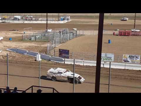 El Paso County Speedway sport mod heat 10/22/2017