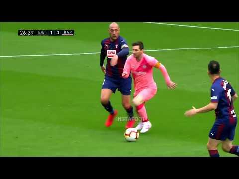 Messi vs Eibar Highlights 2019
