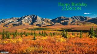 Zaroon   Nature Birthday