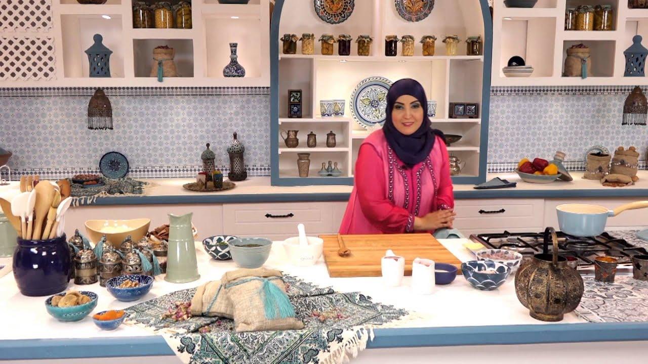مطبخ اسيا - فتة الملوخية وكشك بالدجاج والبسبوسة مع أسيا عثمان في مطبخ أسيا (الجزء الأول)