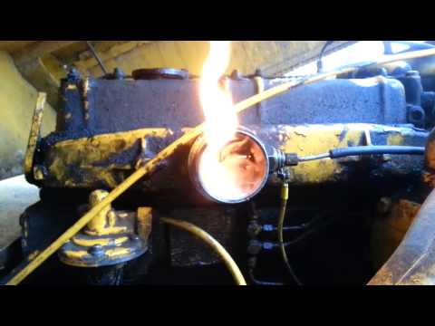 HOW THE FLAME HEATER WORKS ON A PERKINS DIESEL