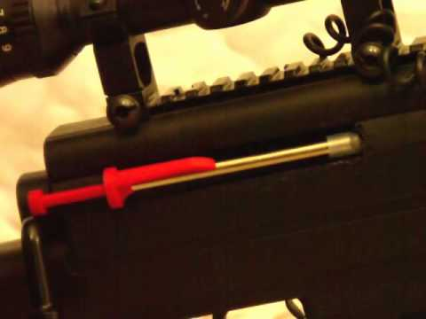BLACK OPS SNIPER PELLET RIFLE MODIFICATIONS BY THE MAD MODIFIER