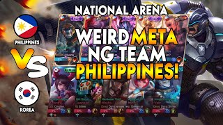WEIRD META NG TEAM PHILIPPINES! - National Arena