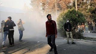 Protesters Call For Revolution In Iran
