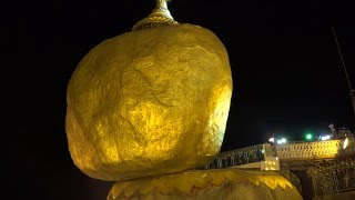 Golden Rock, Myanmar in Ultra HD – Music: Buddha Rain – Herrin