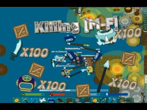 Starve.io Attacking WORLD RECORD 5MLN Score  100 Dragon Gears 100 Diving Suits