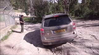 הדרכת נהיגה בשטח טרשי סובארו פורסטר