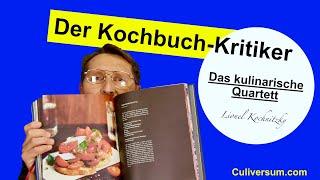 Das kulinarische Quartett Teil 3 - Kochbuchkritik