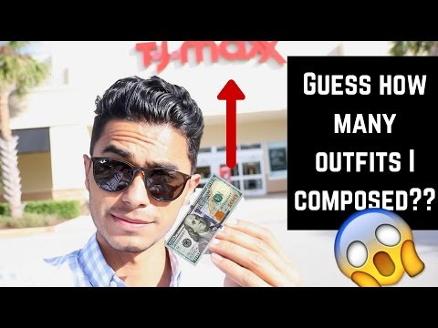 TJ Maxx $100 Style Challenge   Shopping Stylish Clothes on a Budget!