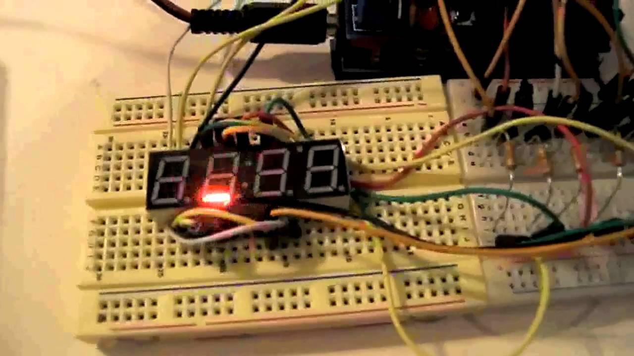 Image result for 4 digit 7 segment display ata3492bw