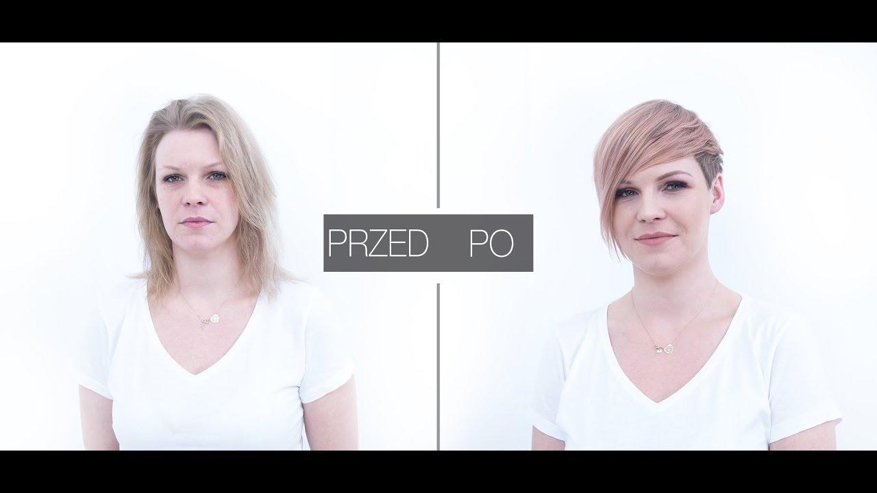 Step4haircom Metamorfoza 2018 Krótka Fryzura Blond