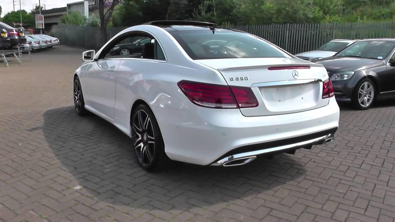 Mercedes Benz E Class Coupe E250 Cdi Coupe U21733 Youtube
