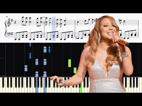 Mariah Carey - All I Want For Christmas Is You - ADVANCED Piano Tutorial + SHEETS