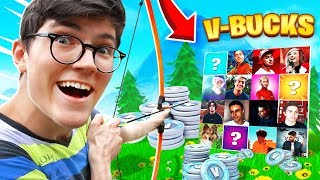 I offer V-BUCKS to Youtubers FORTNITE Challenge!