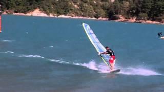 Planche a voile Freestyle - lac du Monteynard - 27 aout 2011 (Kodak PlaySport)