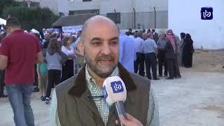وقفة احتجاجية أمام السفارة السورية في عمان تنديدا بالتوغل التركي (15/10/2019)