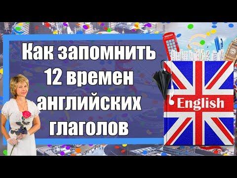 Как запомнить 12 времен английских глаголов
