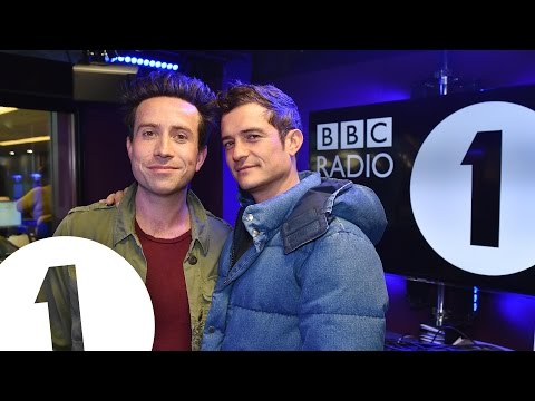 Orlando Bloom talks paddle boarding and dogs with Nick Grimshaw