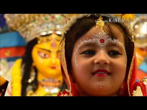 Belur Math Kumari Puja 2017, কুমারী পুজা, most popular durga puja in kolkata,