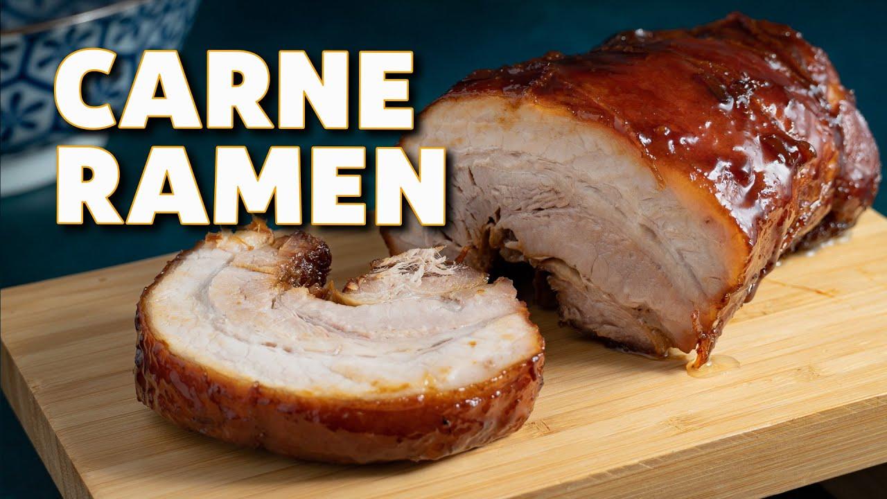 Receta Chashu  ➡  La Carne del Ramen || Cocina Japonesa