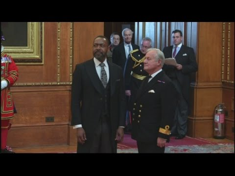 Sir Lenny Henry receives knighthood