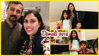 Diwali Vlog - 2018 I Diwali in Canada I Indian Mom Vlogger I Happy Home Happy life