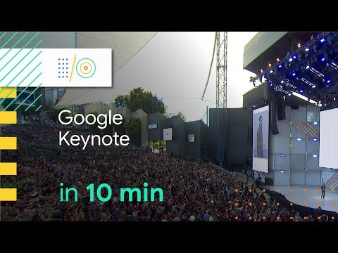 Google I/O 2018 Keynote in 10 minutes
