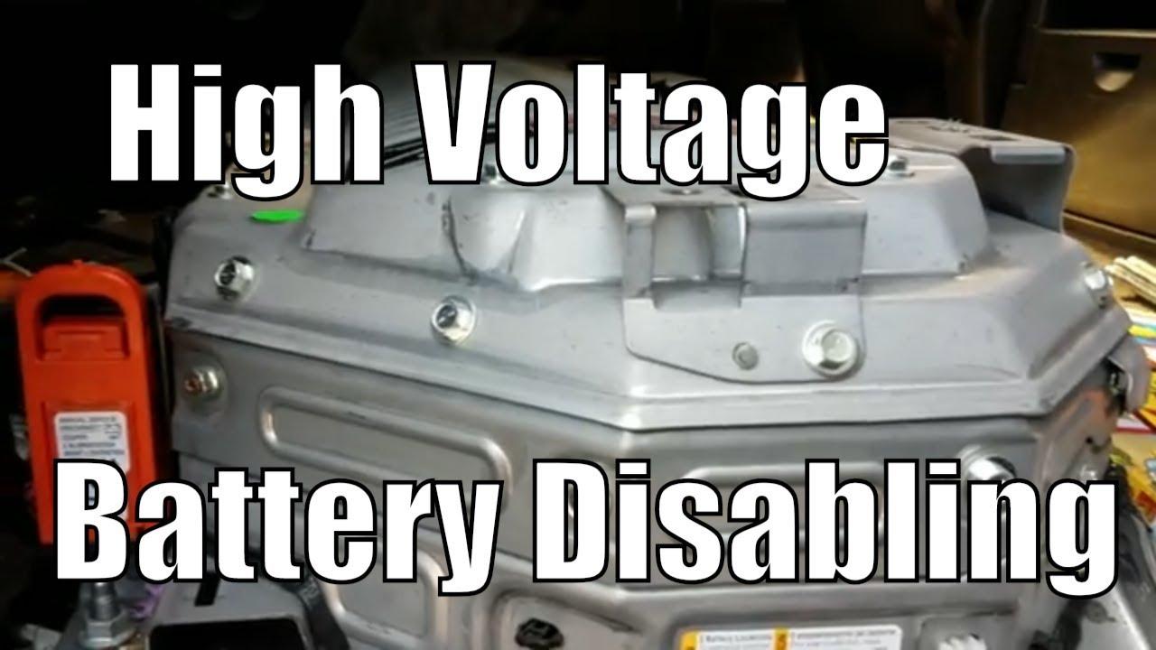 Hybrid Highvoltagebattery Flatratemechanic