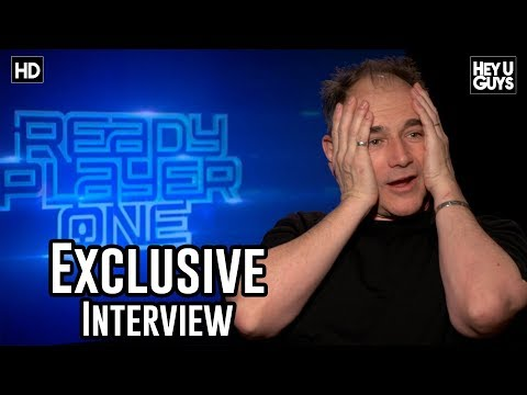 Mark Rylance on Ready Player One, Spielberg's traveling circus, motion capture - Exclusive Interview