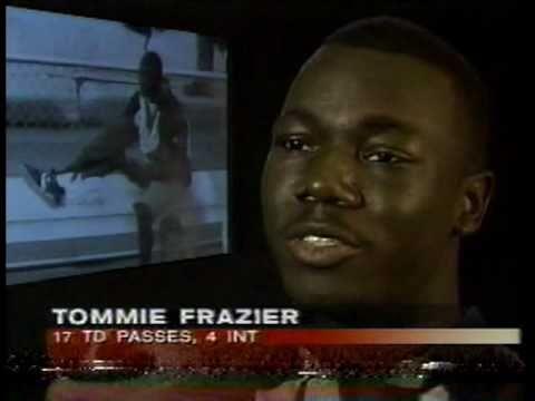 1995 Husker Retro-Fiesta Bowl hype, Tommie Frazier